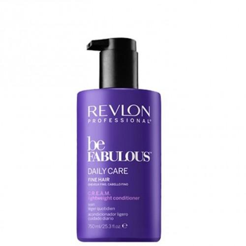 Revlon be Fabulous Daily Care Fine Hair Cream Conditioner 750 ml