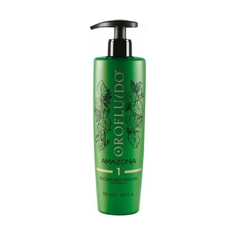 Revlon Orofluido Amazonia Step 1 Olio Riparatore 500 ml