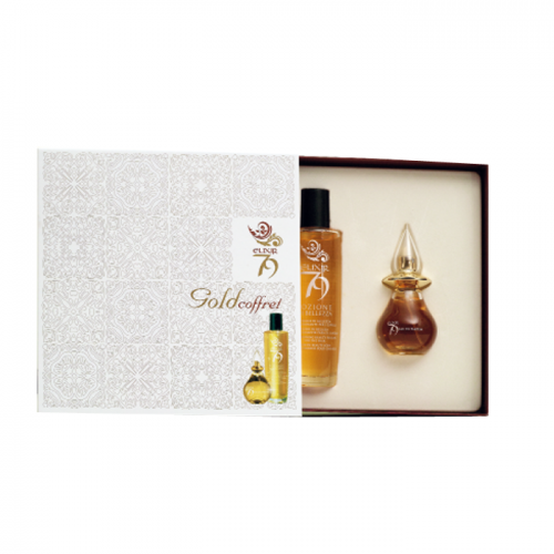 Intercosmo Elixir 79 Gold Coffret Pozione di Bellezza 100 Ml+profumo 30 ml
